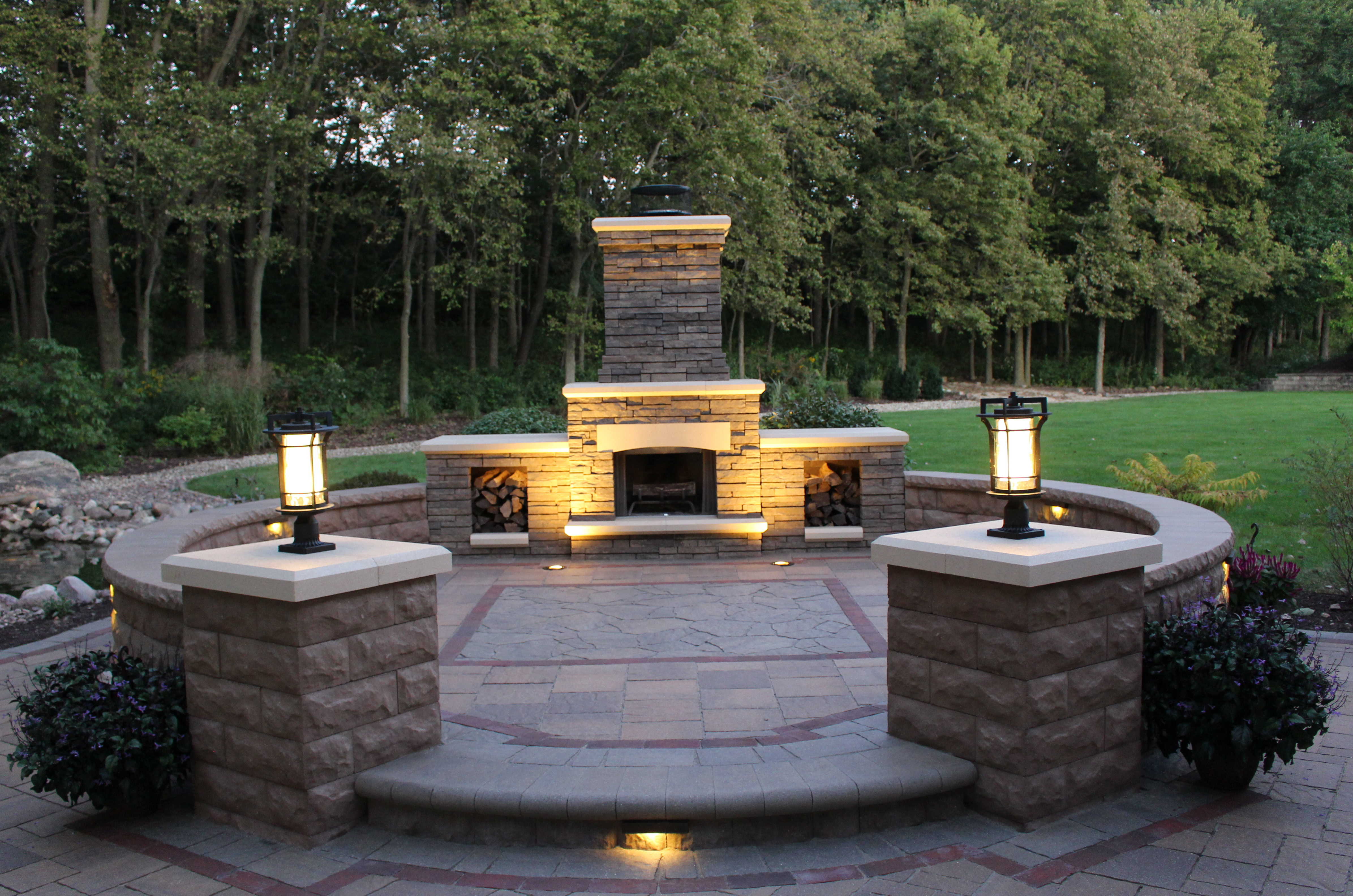 Hardscapes and outdoor living celtic landscaping for Outdoor landscaping